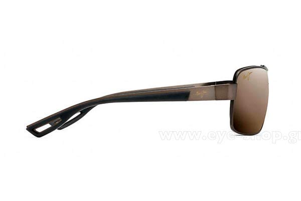 Maui Jim μοντέλο OLA στο χρώμα H764-25M Mt Brown Superthin Glass  Polarized plus