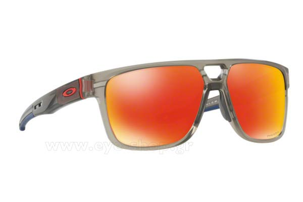 Γυαλιά Oakley CROSSRANGE PATCH 9382 05 Mt Grey Ink Prizm Ruby