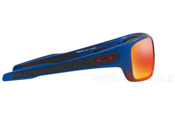 Oakley μοντέλο Turbine 9263 στο χρώμα 44 Orange Pop Fade prizm ruby