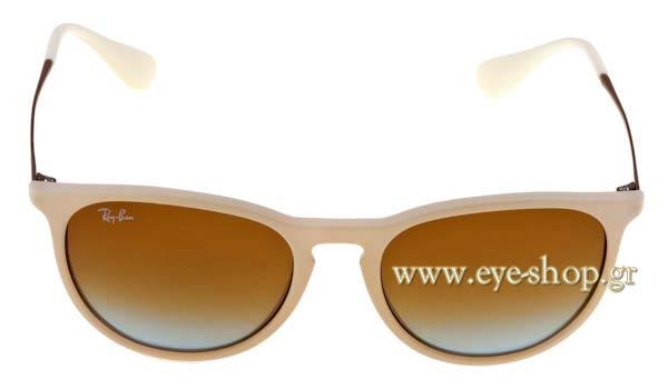 ΓΥΑΛΙΑ ΗΛΙΟΥ RAYBAN ERIKA 4171 869 5D Unisex Eye-Net  892fb45ec5d