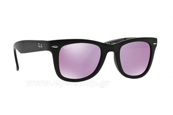Γυαλιά Rayban 4105 Folding Wayfarer 601S4K Lilac mirror Limited Edition ce181cccd92