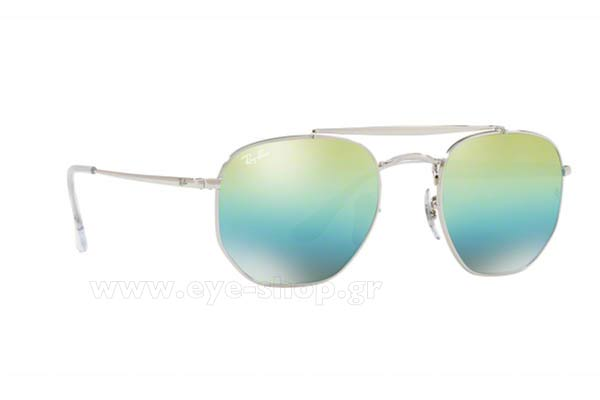 Γυαλιά Rayban 3648 THE MARSHAL 003/I2 Hexagonal Double Bridge